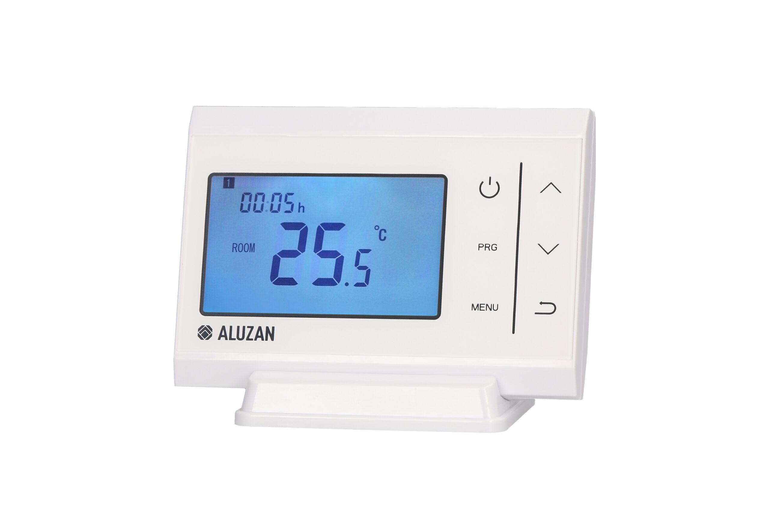 Aluzan bílý termostat B-10 - Produktová fotografie PF360